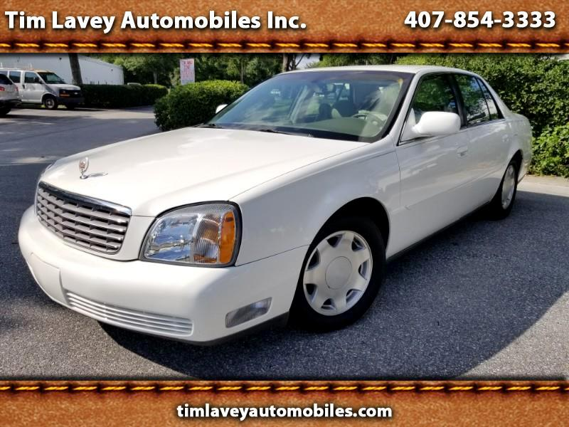 2001 Cadillac DeVille 4dr Sdn DHS