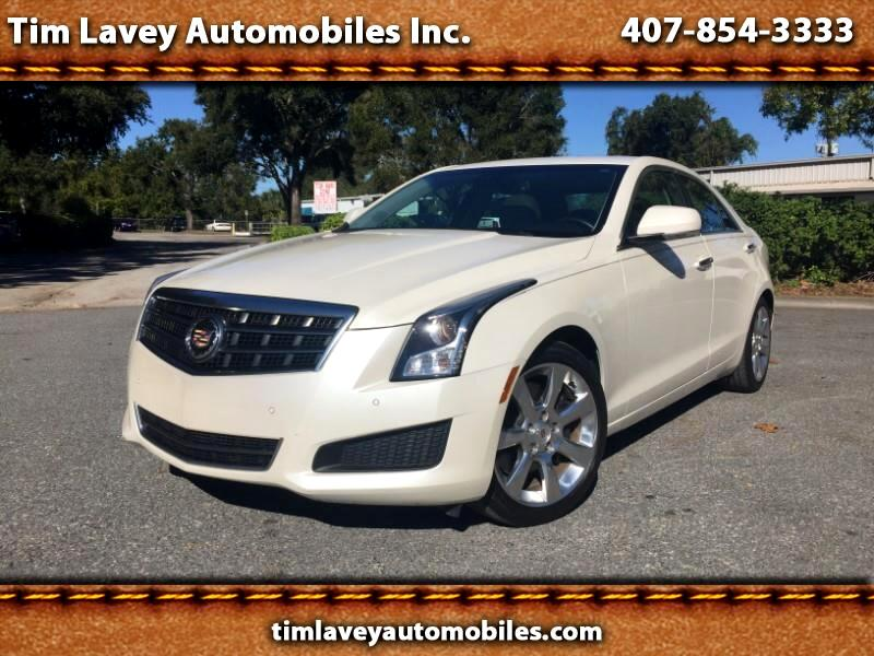 2013 Cadillac ATS Sedan 4dr Sdn 2.5L Luxury RWD