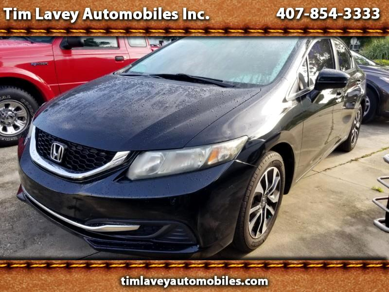 2014 Honda Civic EX sedan AT