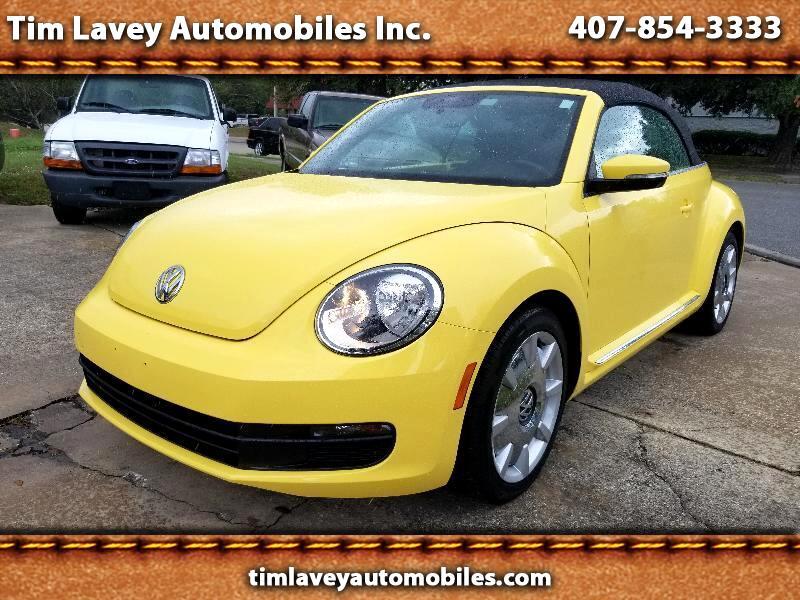 2015 Volkswagen Beetle 1.8T Convertible w/Sound & Nav
