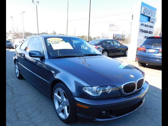 2006 BMW 3-Series 325Ci coupe