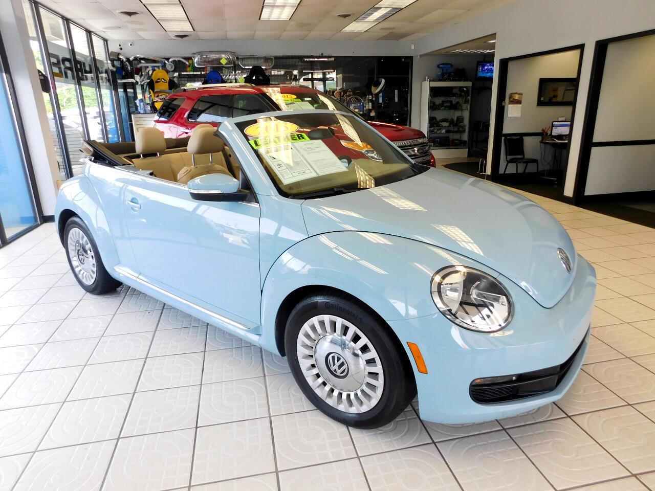 2015 Volkswagen Beetle 1.8T PZEV Convertible