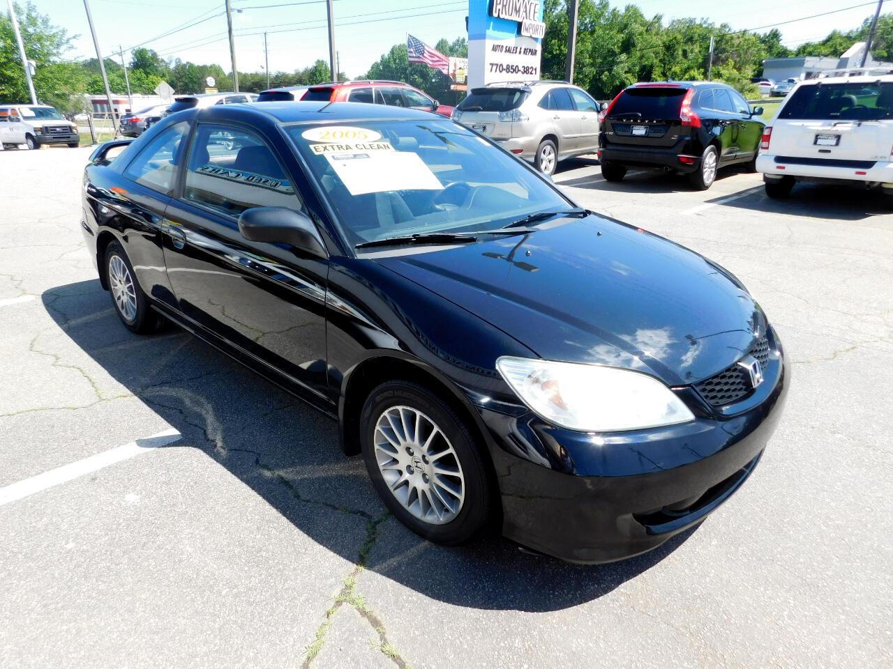 Honda Civic LX SE Coupe AT 2005