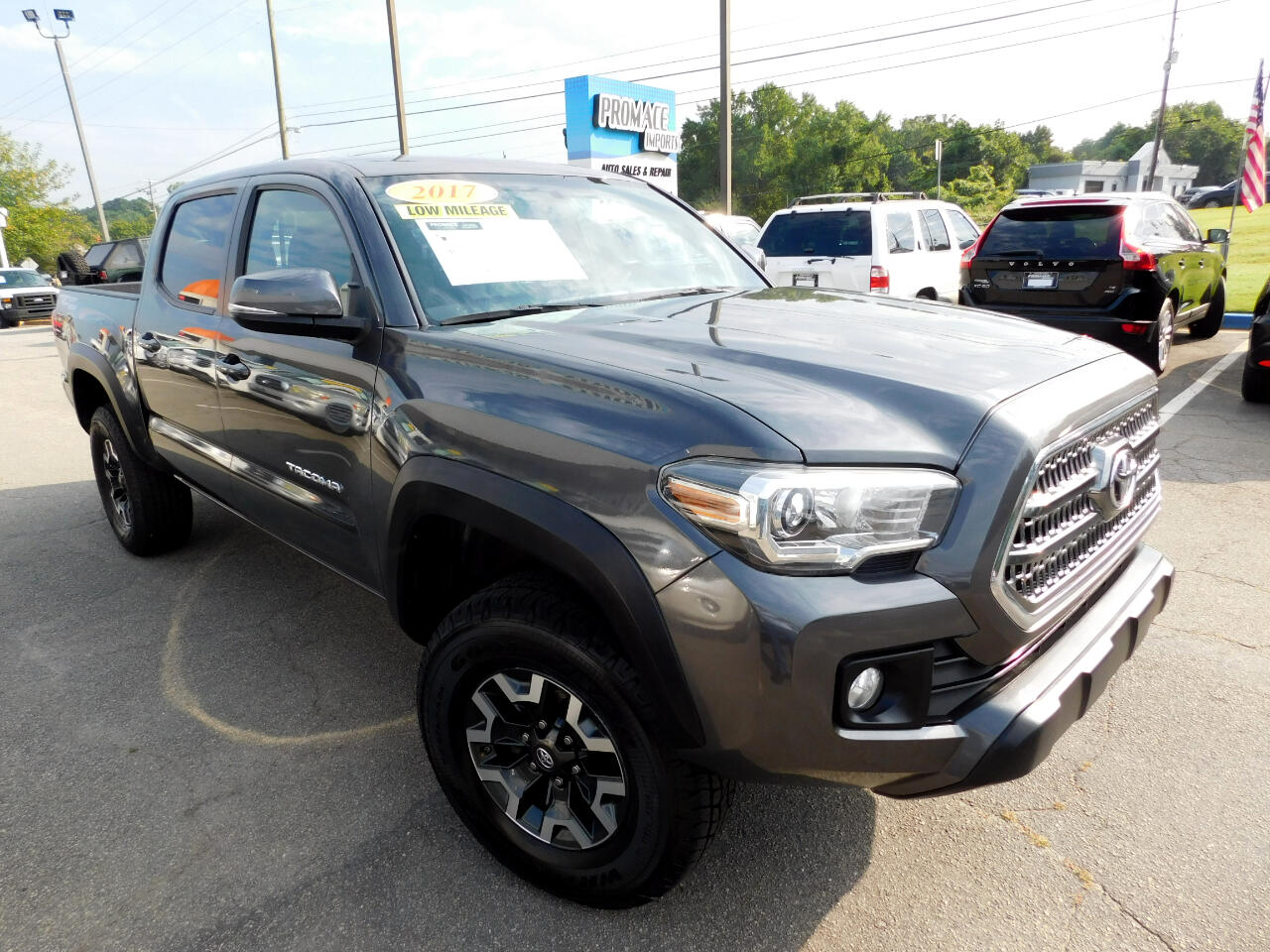 2017 Toyota Tacoma TRF-OFF ROAD V6 6AT 2WD