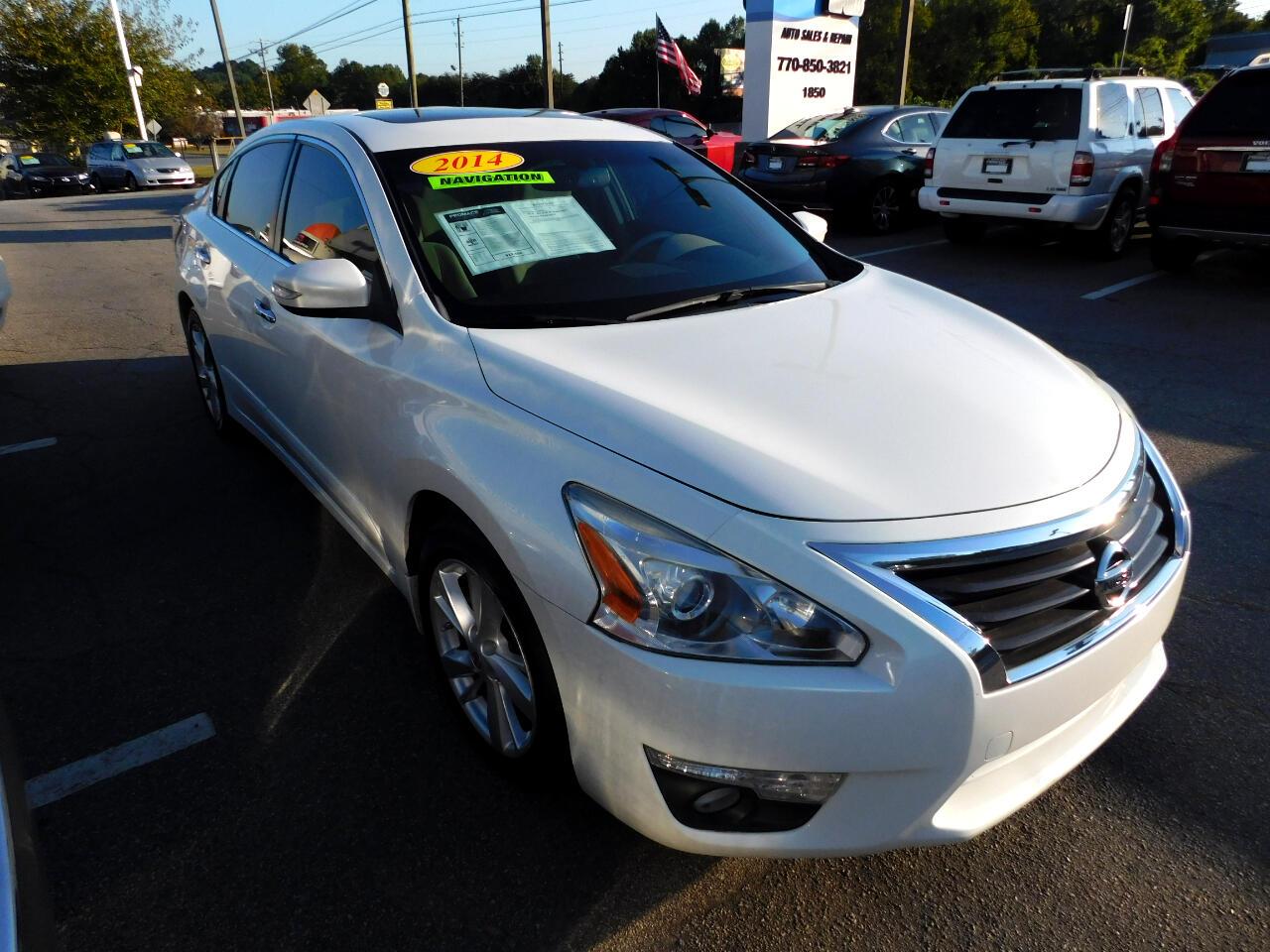 Nissan Altima 2.5 SL 2014