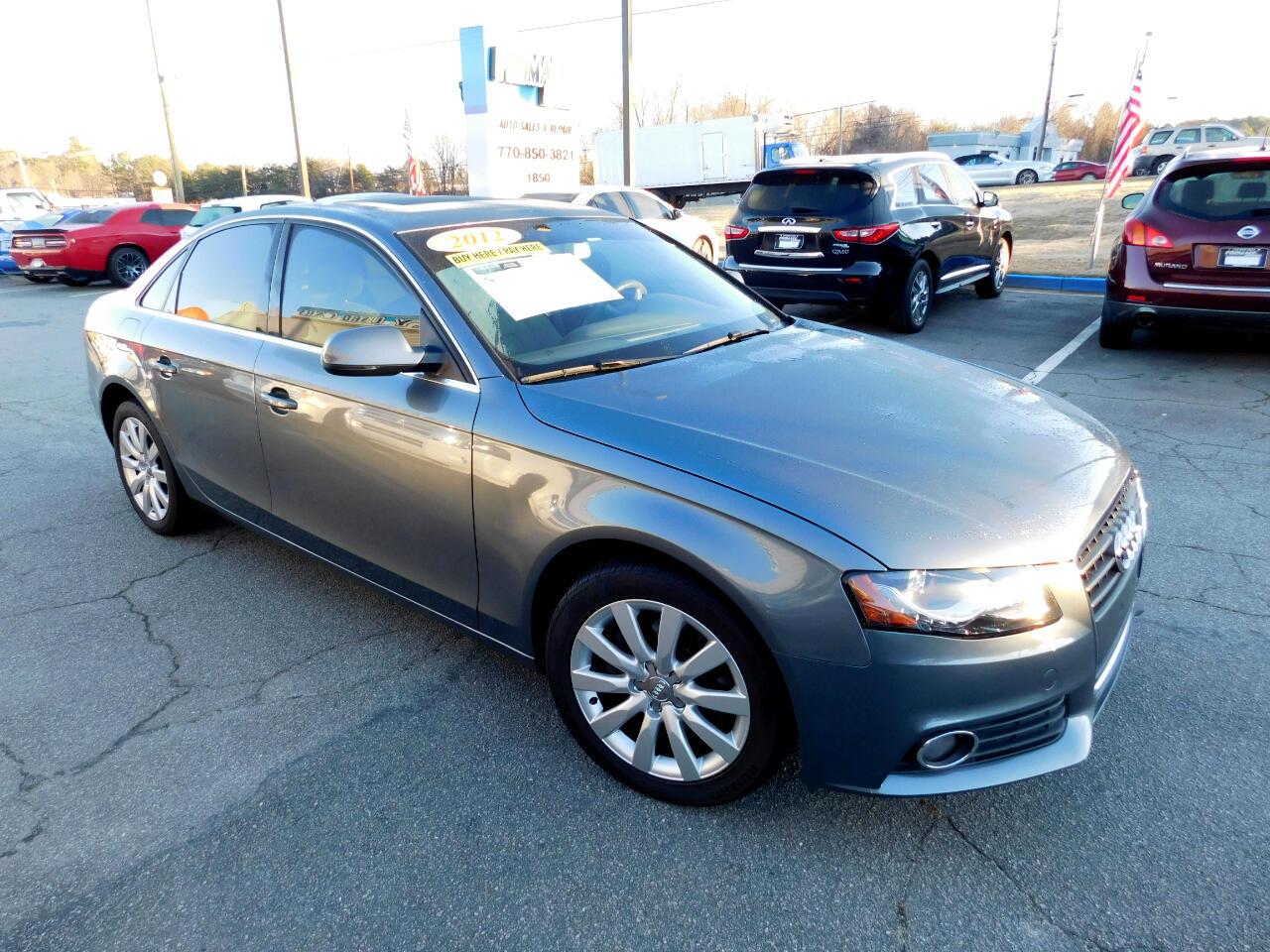 Audi A4 2.0 T Sedan FrontTrak Multitronic 2012