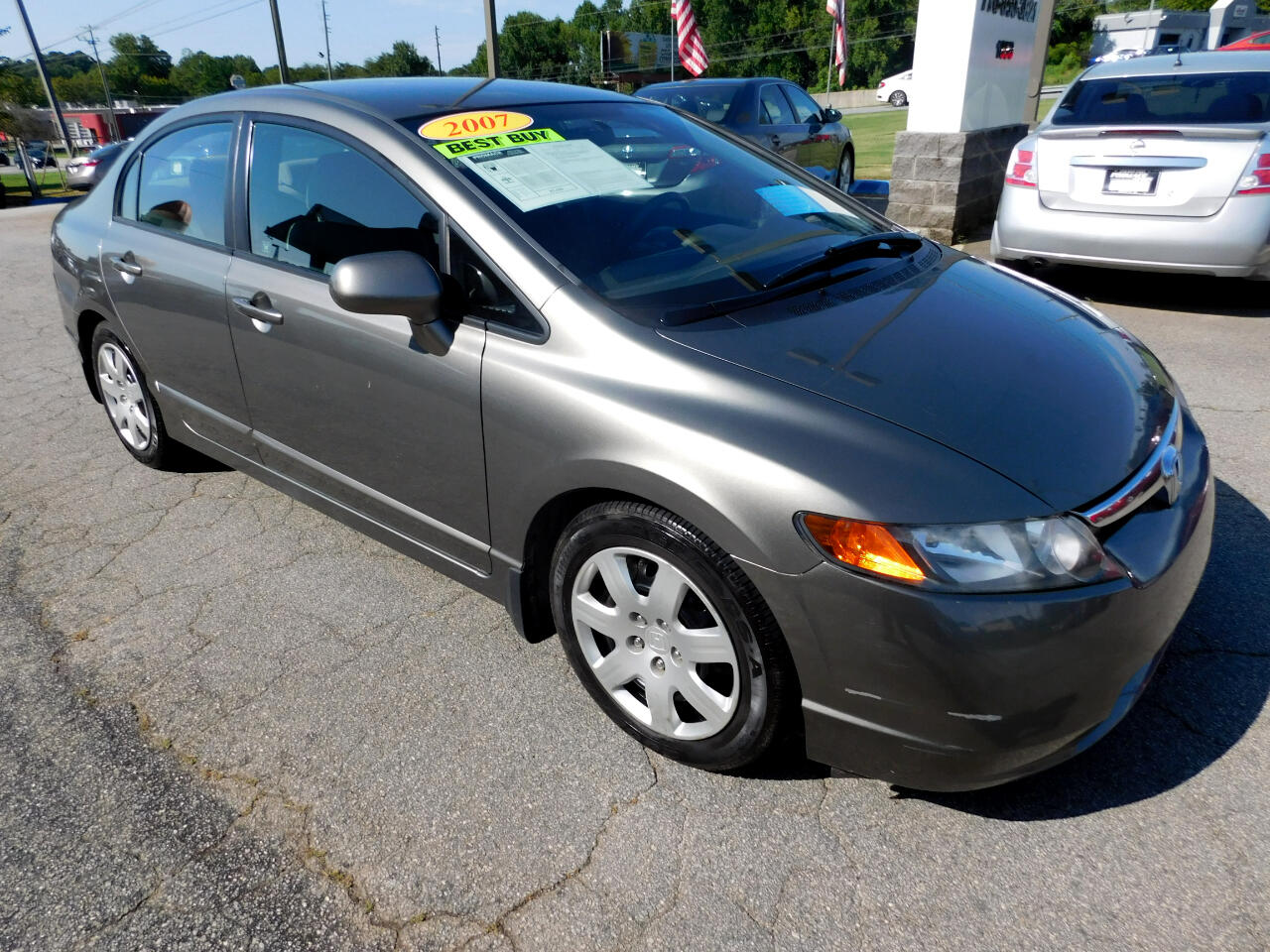 Honda Civic LX sedan 2007