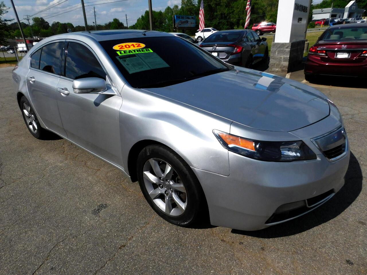 Acura TL 6-Speed AT 2012