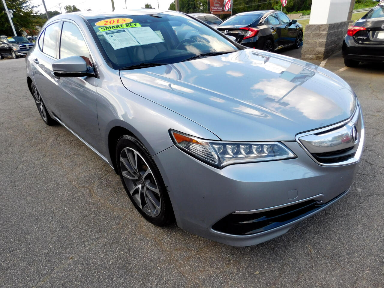 Acura TLX 9-Spd AT w/Technology Package 2015
