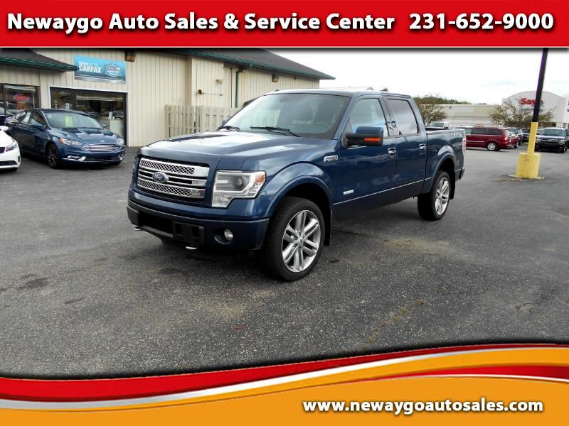 """2014 Ford F-150 4WD SuperCrew 145"""" Limited"""