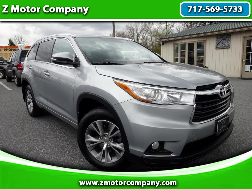 2015 Toyota Highlander XLE AWD W/ DVD & 2ND ROW BUCKETS