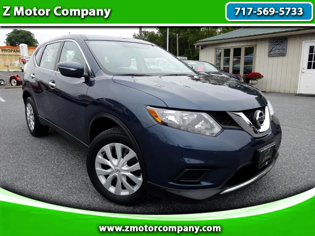 2015 Nissan Rogue S AWD w/ Back-Up Camera