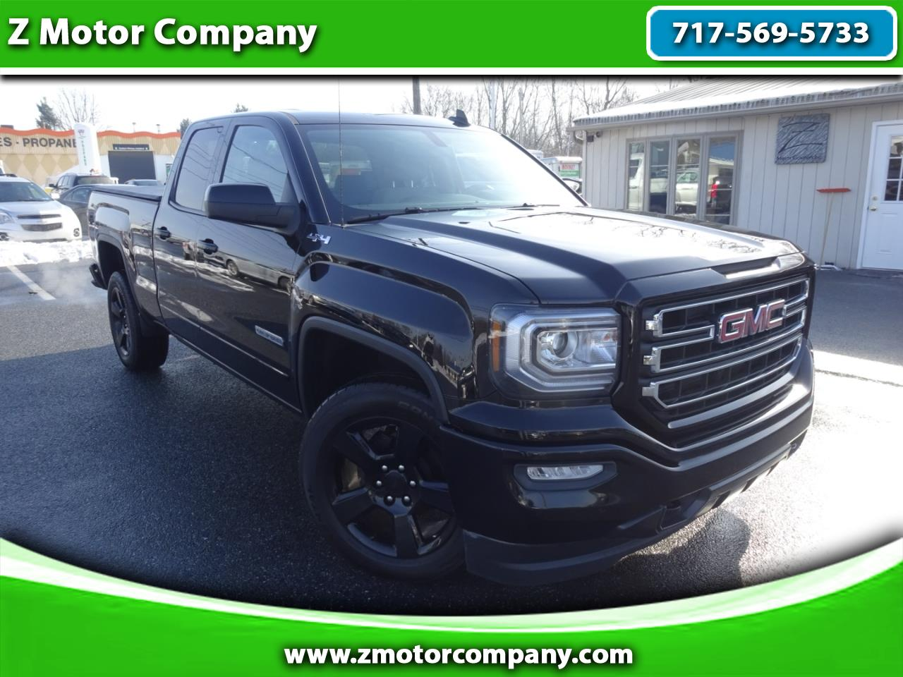 2018 GMC Sierra 1500 Base Double Cab 4WD