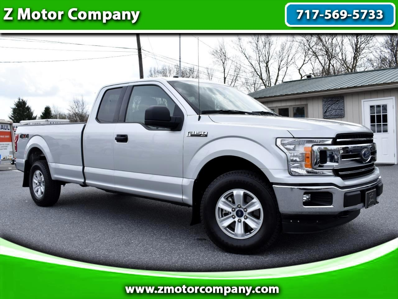 2018 Ford F-150 XLT 4WD SuperCab 8' Box