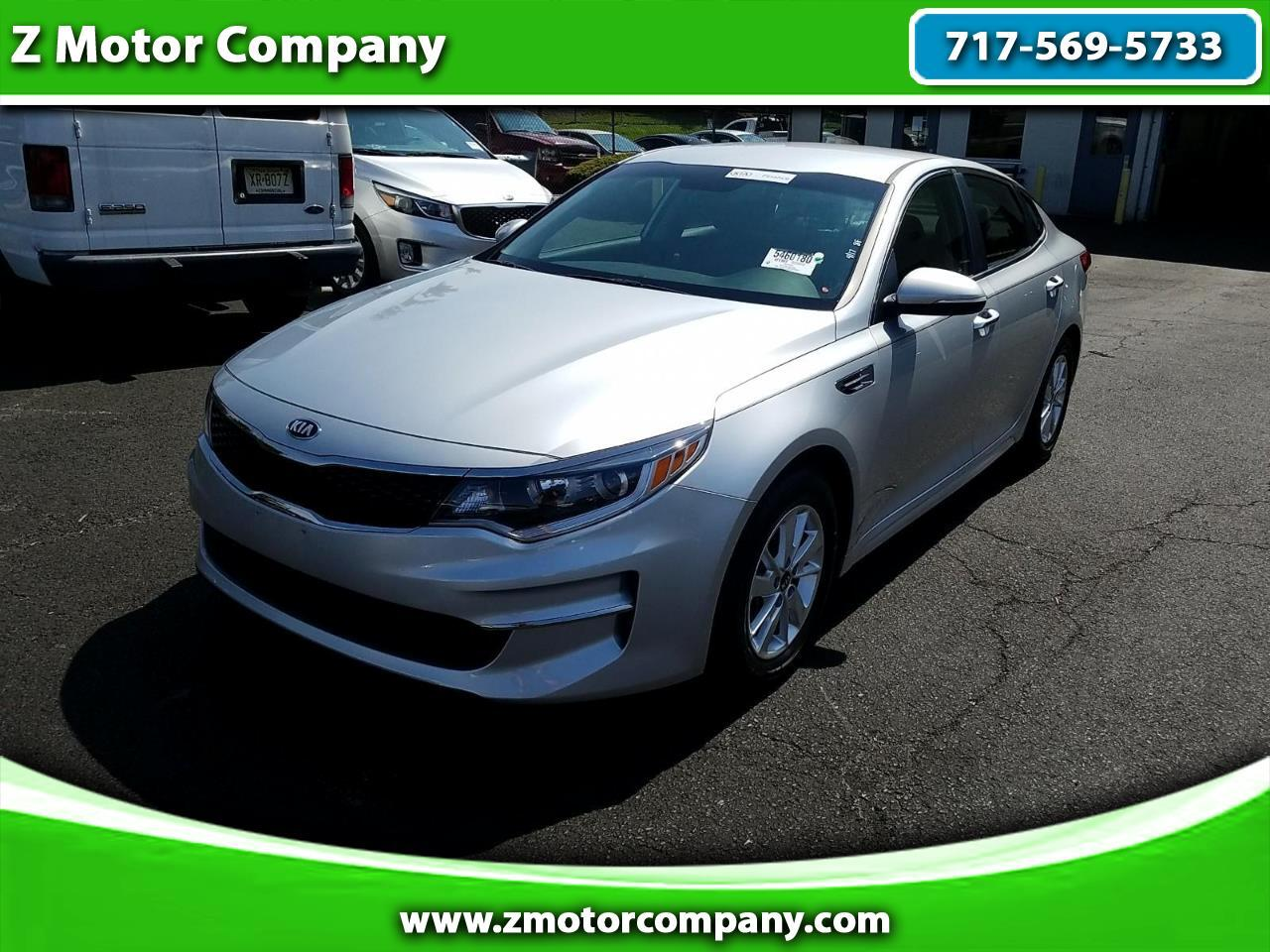 2016 Kia Optima 4dr Sdn LX