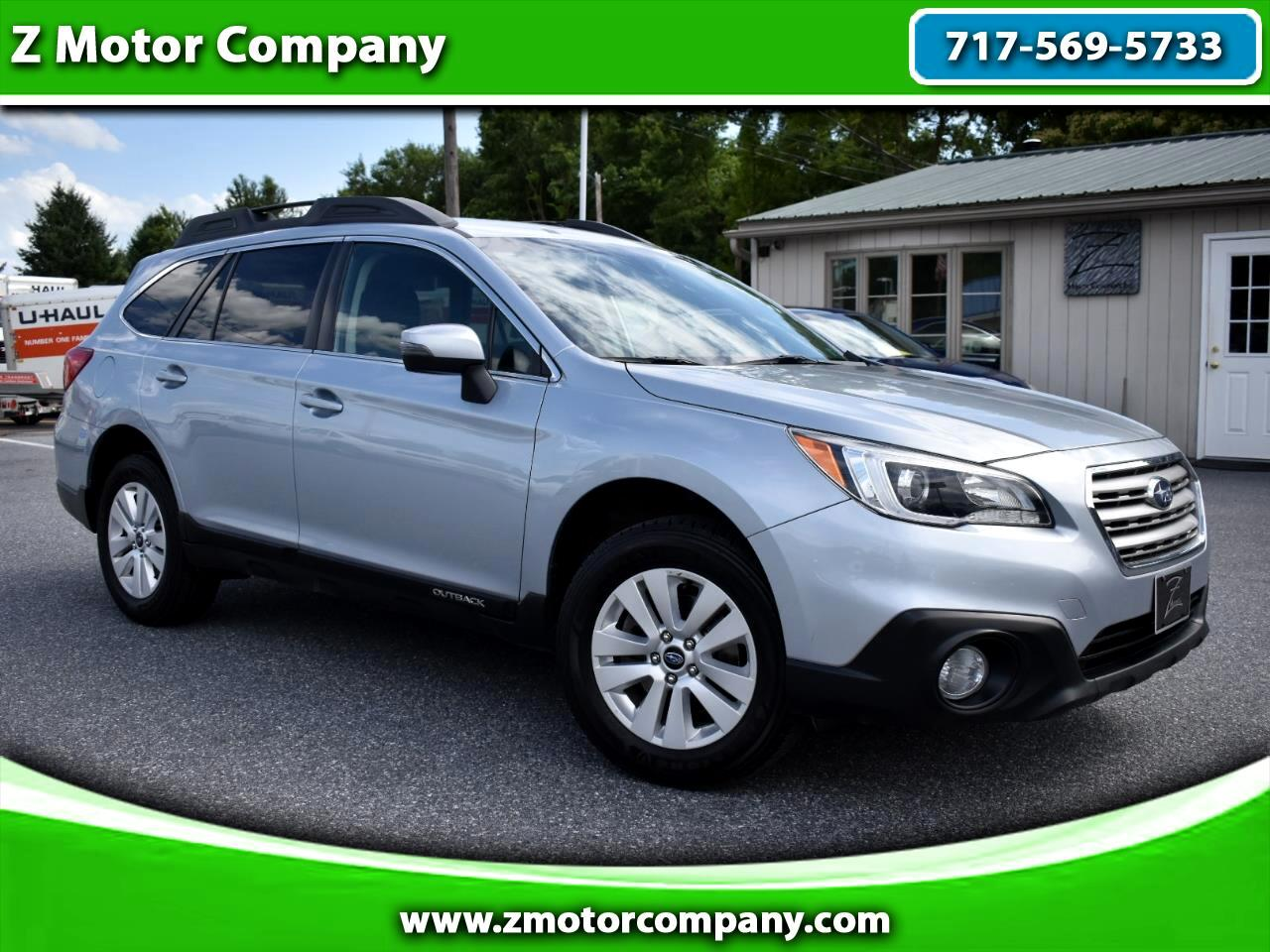 2017 Subaru Outback 2.5i Premium w/ Eyesight Pkg