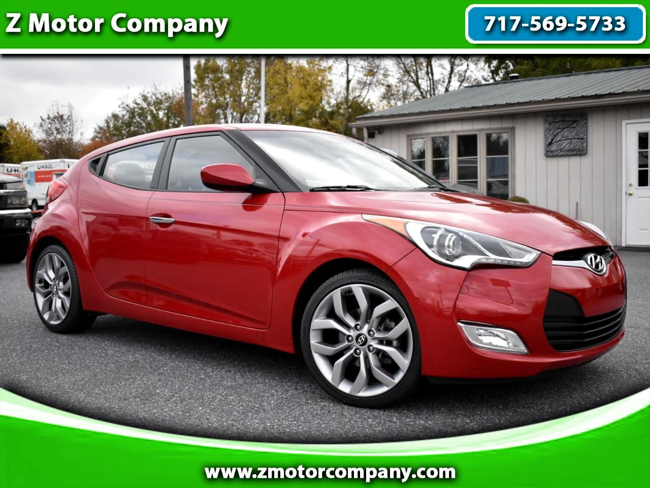 2014 Hyundai Veloster 3dr Cpe Auto RE:FLEX w/Black Int