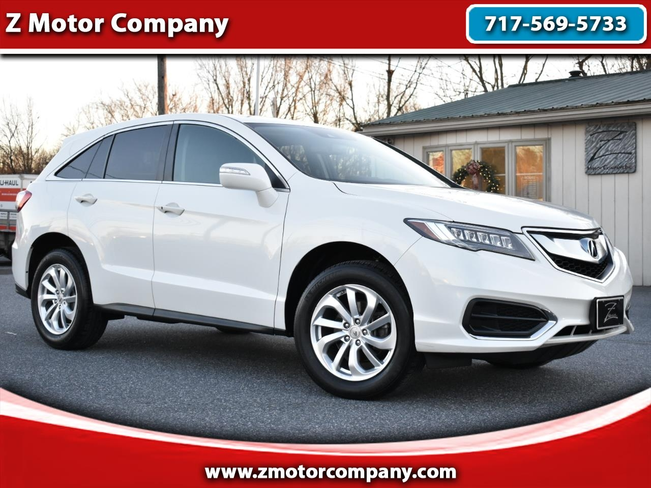 Acura RDX AWD w/Technology/AcuraWatch Plus Pkg 2018