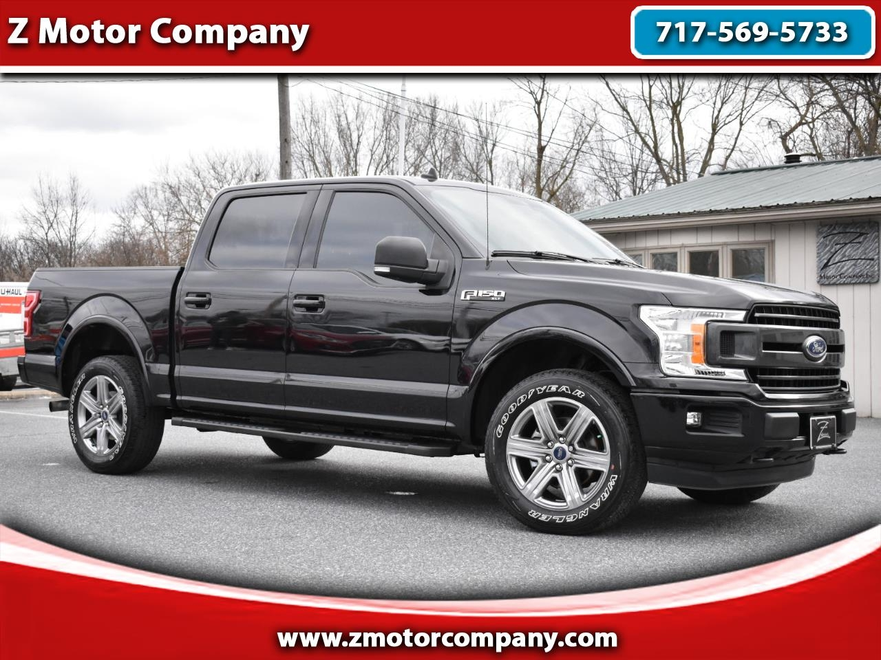 Ford F-150 XLT 4WD SuperCrew 5.5' Box 2019