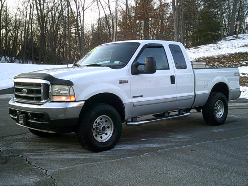 Ford F-250 SD XLT SuperCab Short Bed 4WD 2002