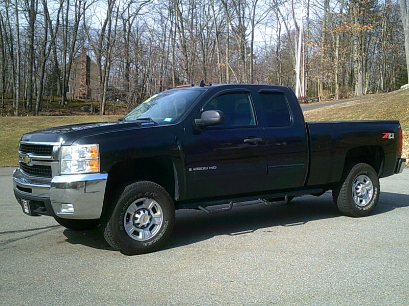 Chevrolet Silverado 2500HD Ext. Cab Short Bed 4WD 2009