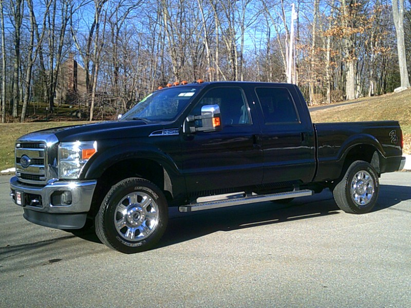 Ford F-250 SD Lariat Crew Cab Short Bed 4WD 2015