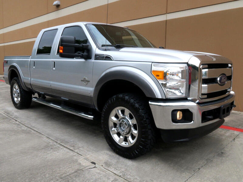 2012 Ford Super Duty F-250 SRW 4WD Crew Cab 156
