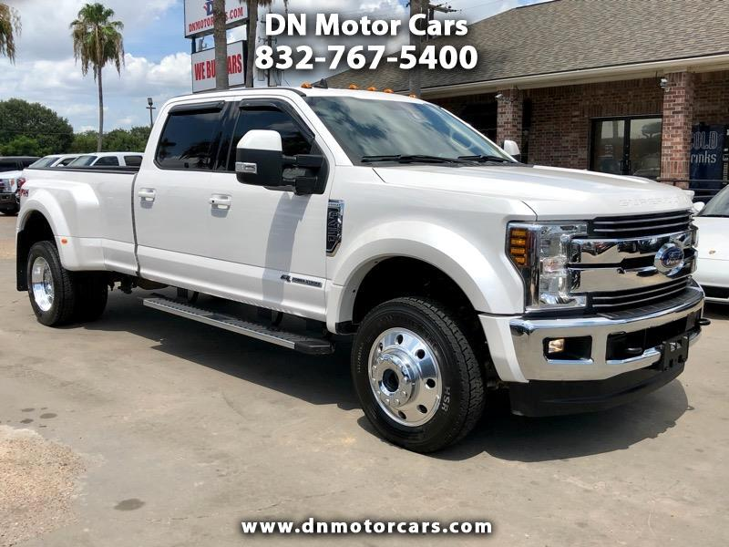 Ford Super Duty F-450 DRW Lariat 4WD Crew Cab 8' Box 2019