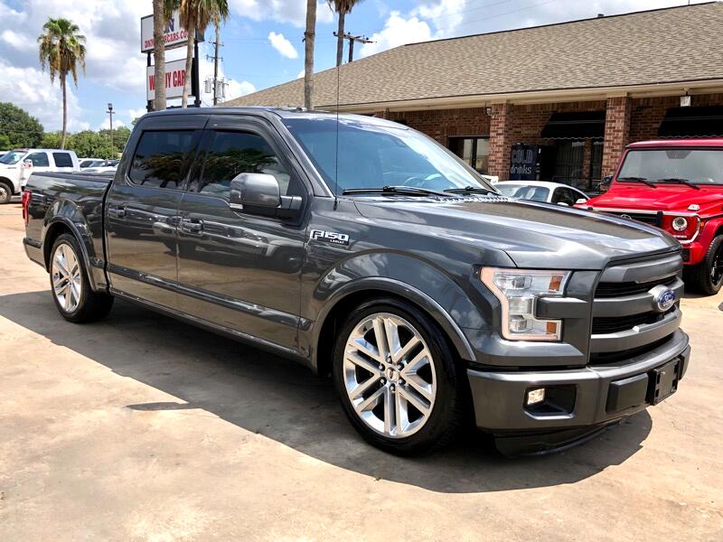 2015 Ford F-150 Lariat SuperCrew 2WD Supercharged