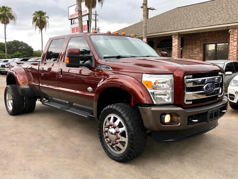 2015 Ford Super Duty F-350 DRW King Ranch 4WD Crew Cab 8' Box