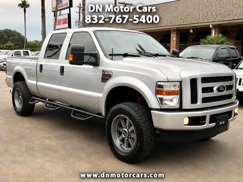 Ford Super Duty F-250 SRW XLT 4WD Crew Cab 6.75' Box 2010