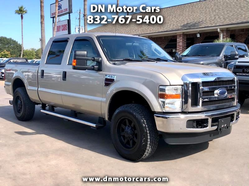 Ford Super Duty F-250 SRW XLT 4WD Crew Cab 6.75' Box 2008