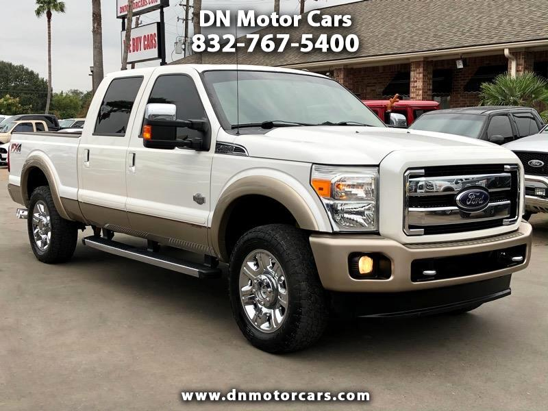 "Ford Super Duty F-250 SRW 4WD Crew Cab 156"" King Ranch 2012"
