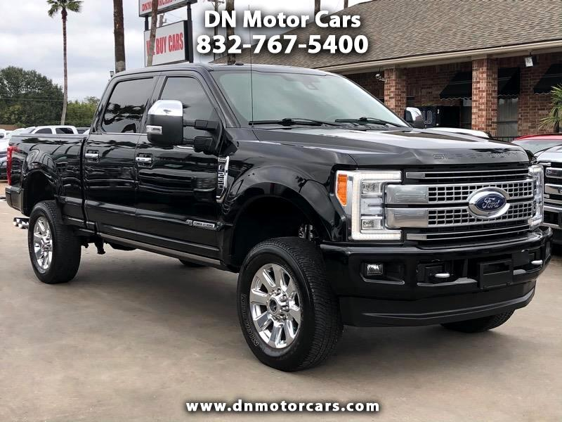 Ford Super Duty F-250 SRW Platinum 4WD Crew Cab 6.75' Box 2017