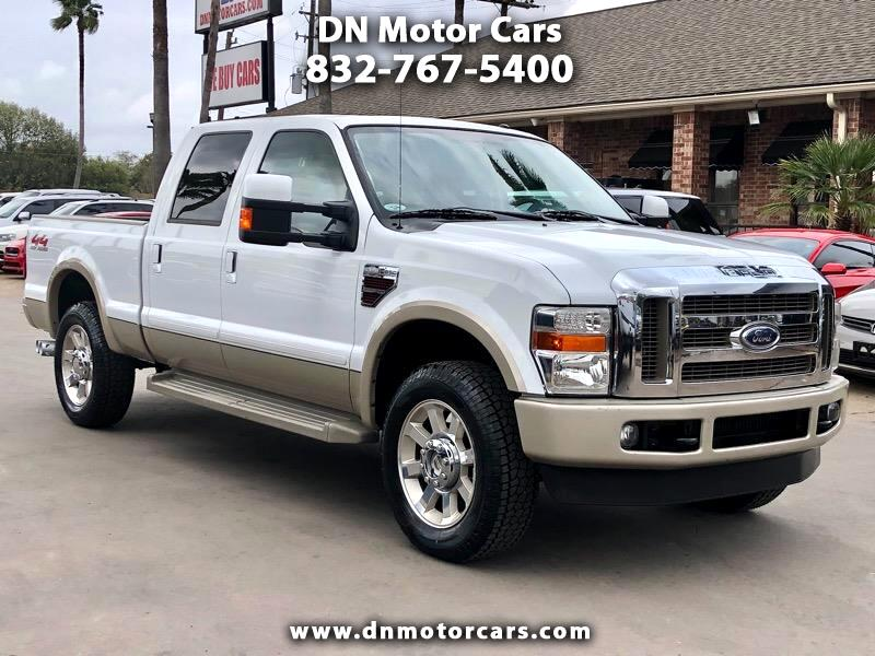 "Ford Super Duty F-250 SRW 4WD Crew Cab 156"" King Ranch 2008"