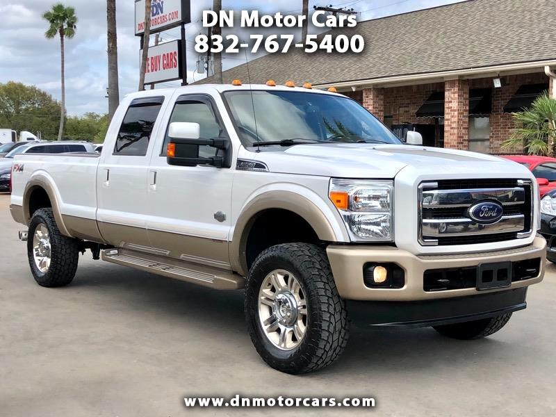 "Ford Super Duty F-350 SRW 4WD Crew Cab 156"" King Ranch 2012"