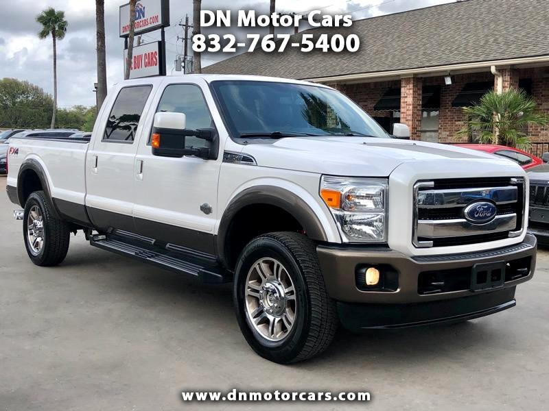 "Ford Super Duty F-350 SRW 4WD Crew Cab 172"" King Ranch 2016"