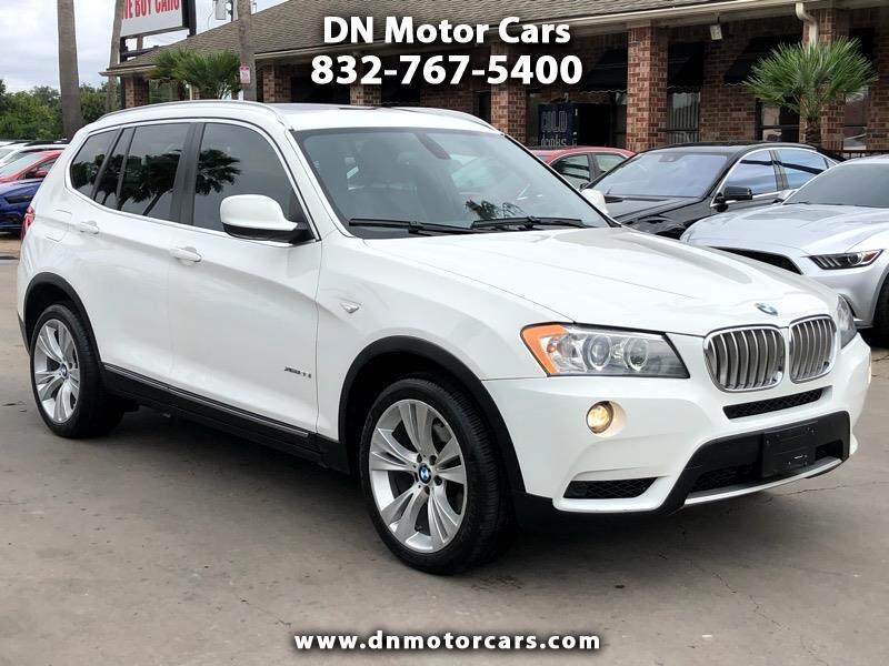 BMW X3 AWD 4dr 35i 2012