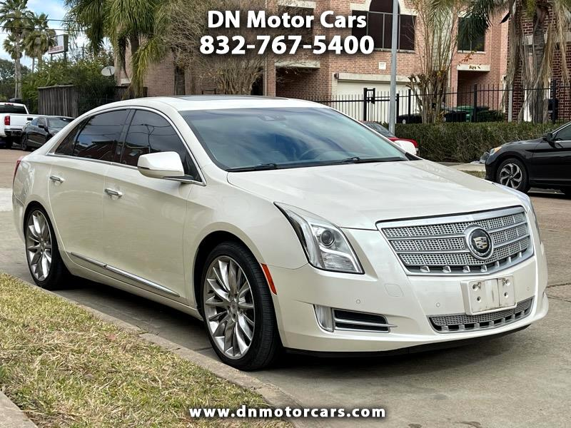 Cadillac XTS 4dr Sdn Platinum FWD 2013