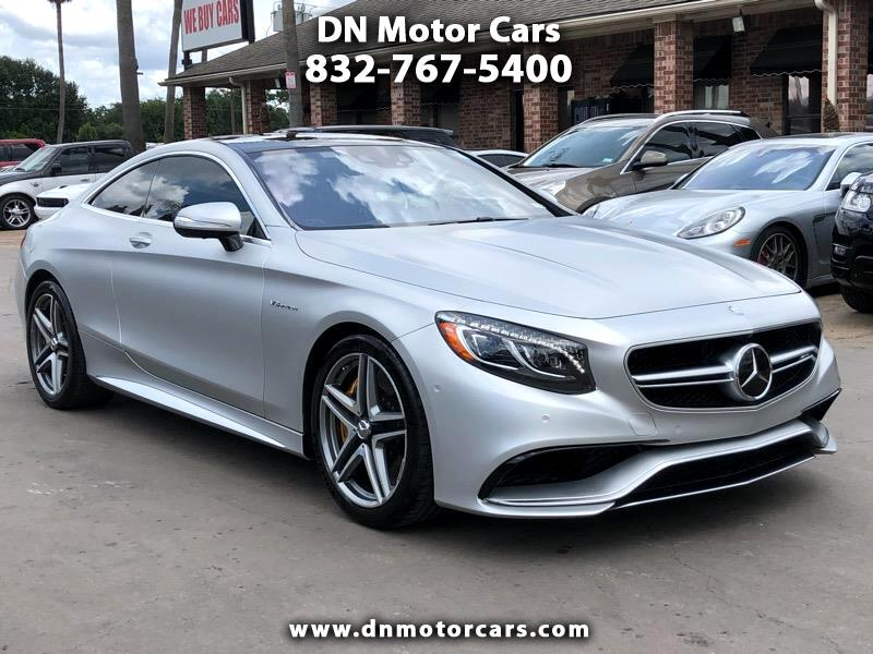 Mercedes-Benz S-Class 2dr Cpe S 63 AMG 4MATIC 2015