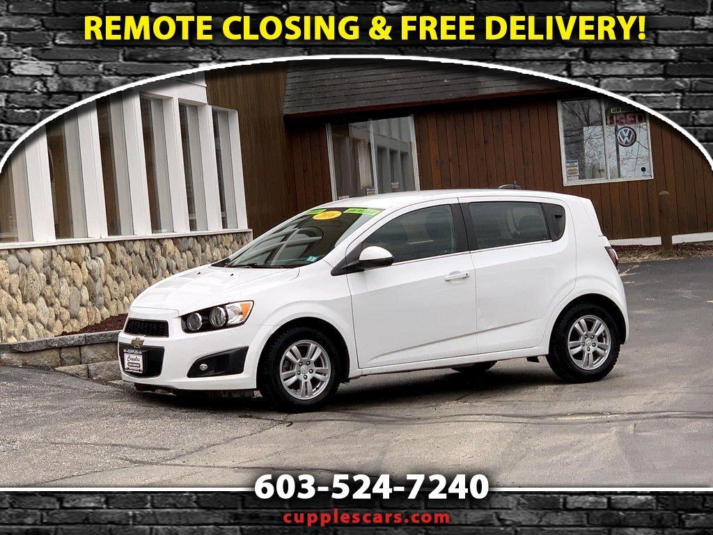 Chevrolet Sonic 2LT 5-Door 2016