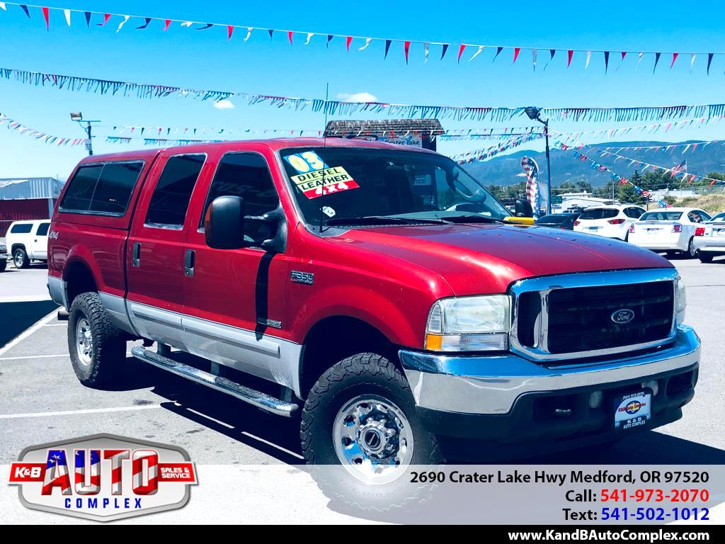 2003 Ford F-350 SD Lariat Crew Cab Long Bed 4WD