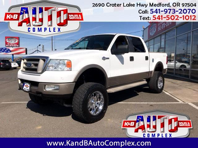 """2005 Ford F-150 4WD SuperCrew 139"""" King Ranch"""