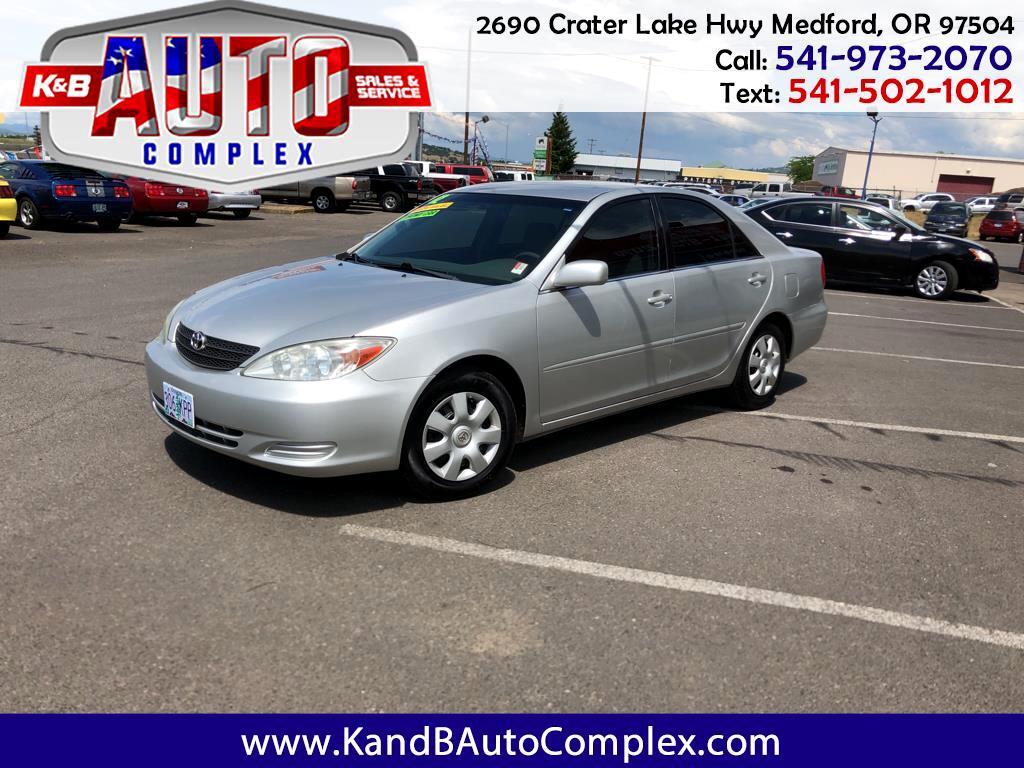2002 Toyota Camry 4dr Sdn XLE Auto