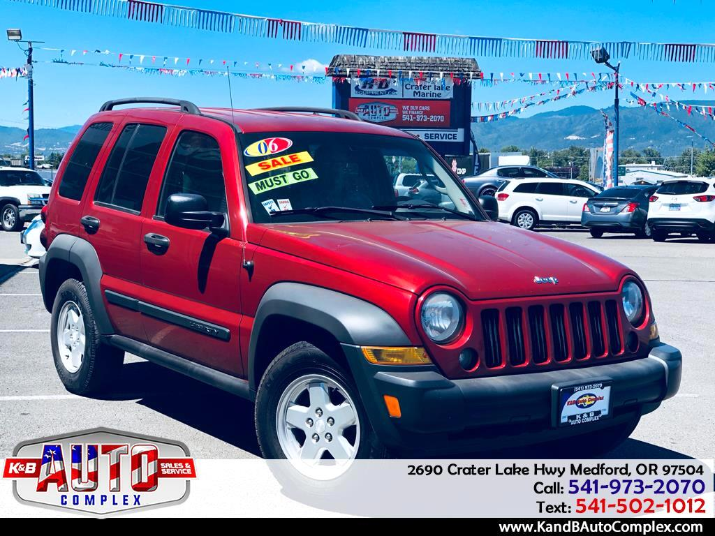 2006 Jeep Liberty 2WD 4dr Sport