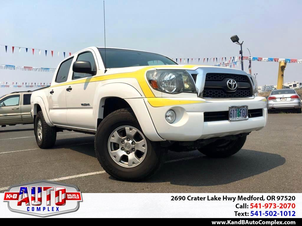 2011 Toyota Tacoma 4WD Double Cab V6 AT SR (Natl)