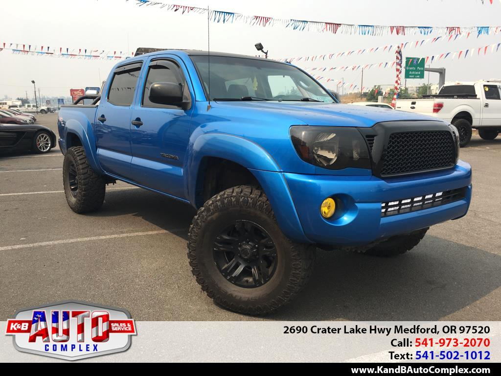 "2005 Toyota Tacoma Double 128"" Manual 4WD (Natl)"