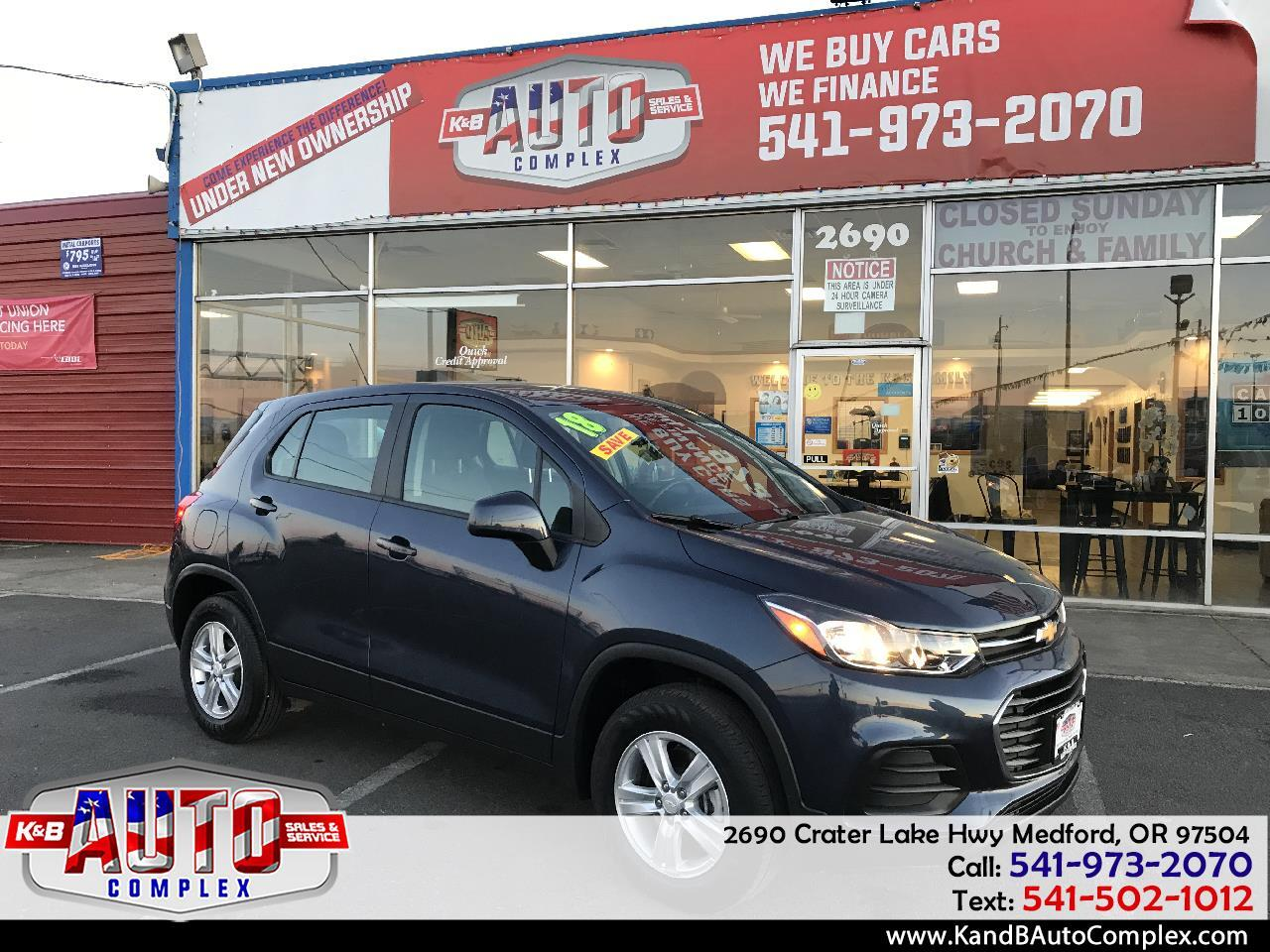 2018 Chevrolet Trax AWD 4dr LS