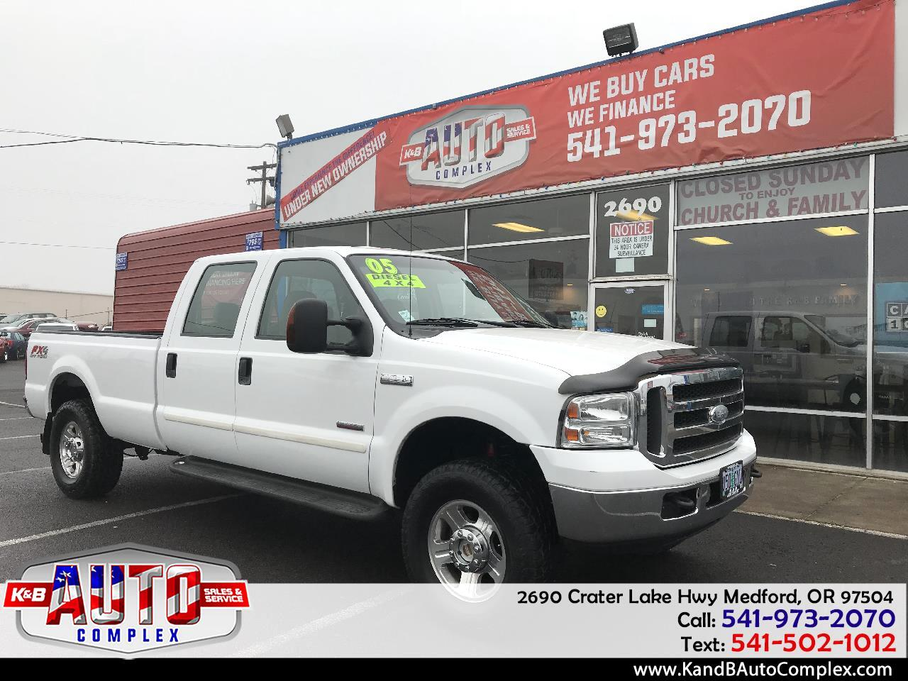 "2005 Ford Super Duty F-250 Crew Cab 172"" XLT 4WD"