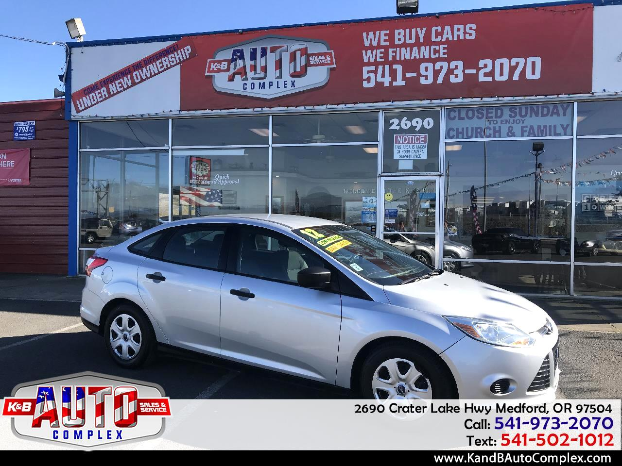 2012 Ford Focus 4dr Sdn S